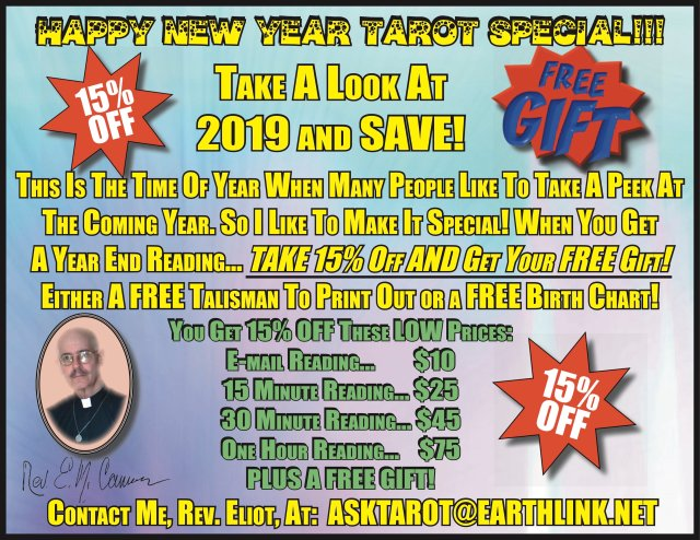 NEW YEAR TAROT