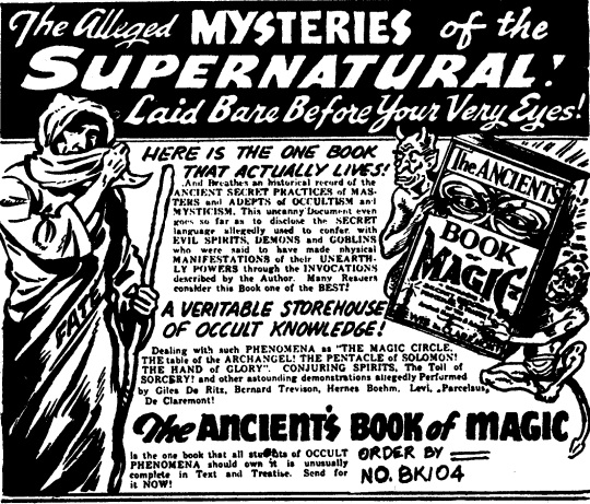 MYSTERIES AD copy