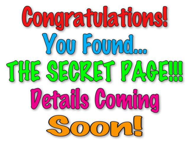 SECRET PAGE