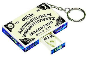 GID OUIJA-BOARD-Game-Keychain-Keyring-Glow-in-the-_1