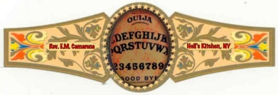 OUIJA Cigar Bands