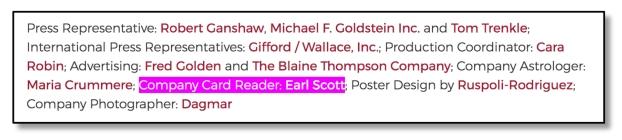 Scott Credit