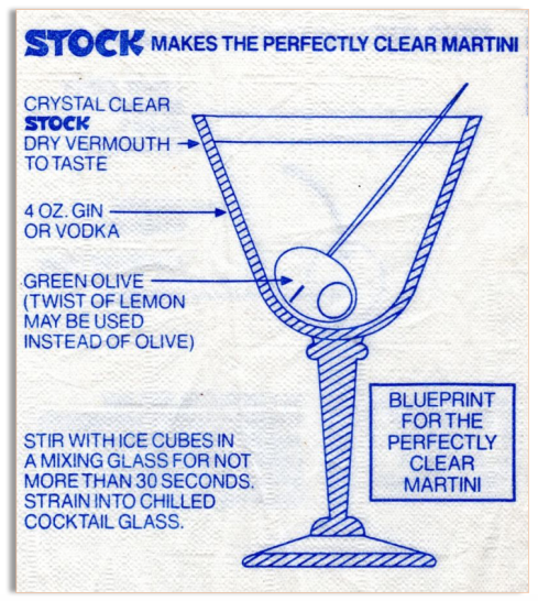 Stock Martini Blueprint