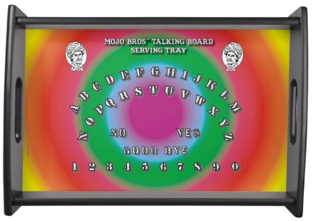 Colorful Talking Board Tray