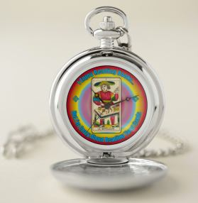 A Tarot Lover's Pocket Watch