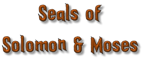 seals of Solomon and Moses