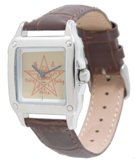 Woman's Moses Pentagram Watch