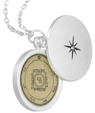 The 5th Pentacle of Venus LOCKET Pendant