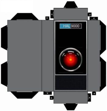 HAL9000 Cut Out