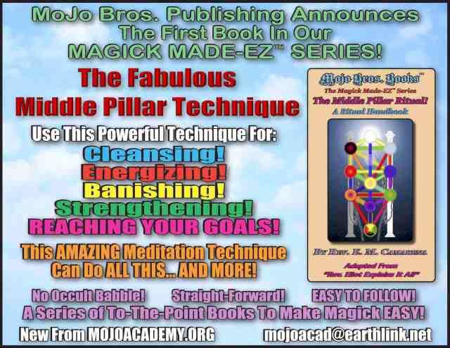 Magick Made EZ Middle Pillar announcement copy