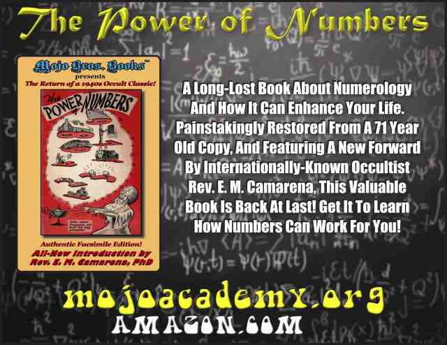 The Power of Numbers Announcement FOR BLOGS