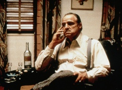 Don Corleone with Anisette