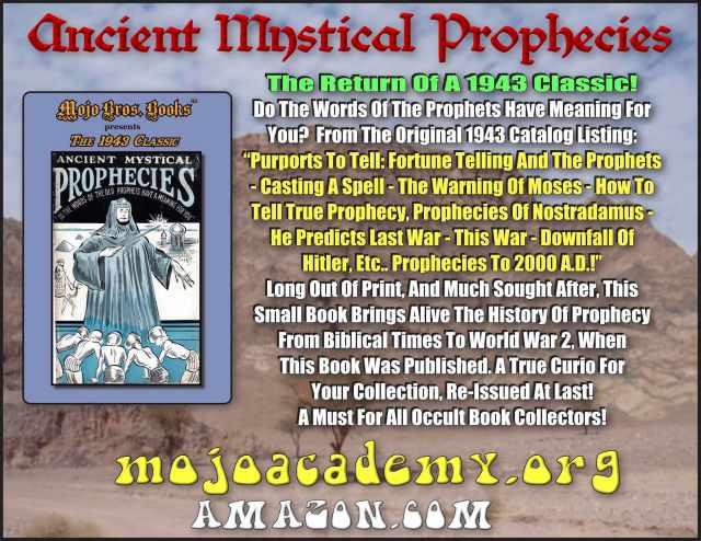 Ancient Mystical Prophecies Announcement