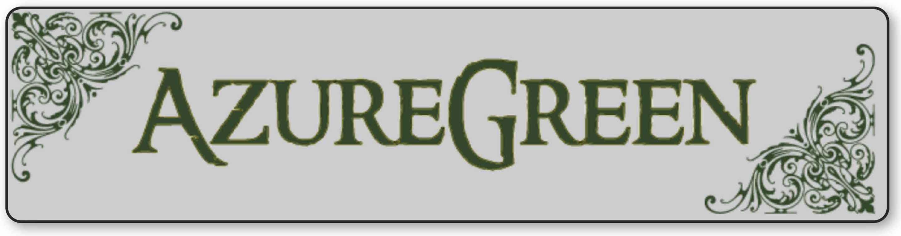 Azure Green Banner